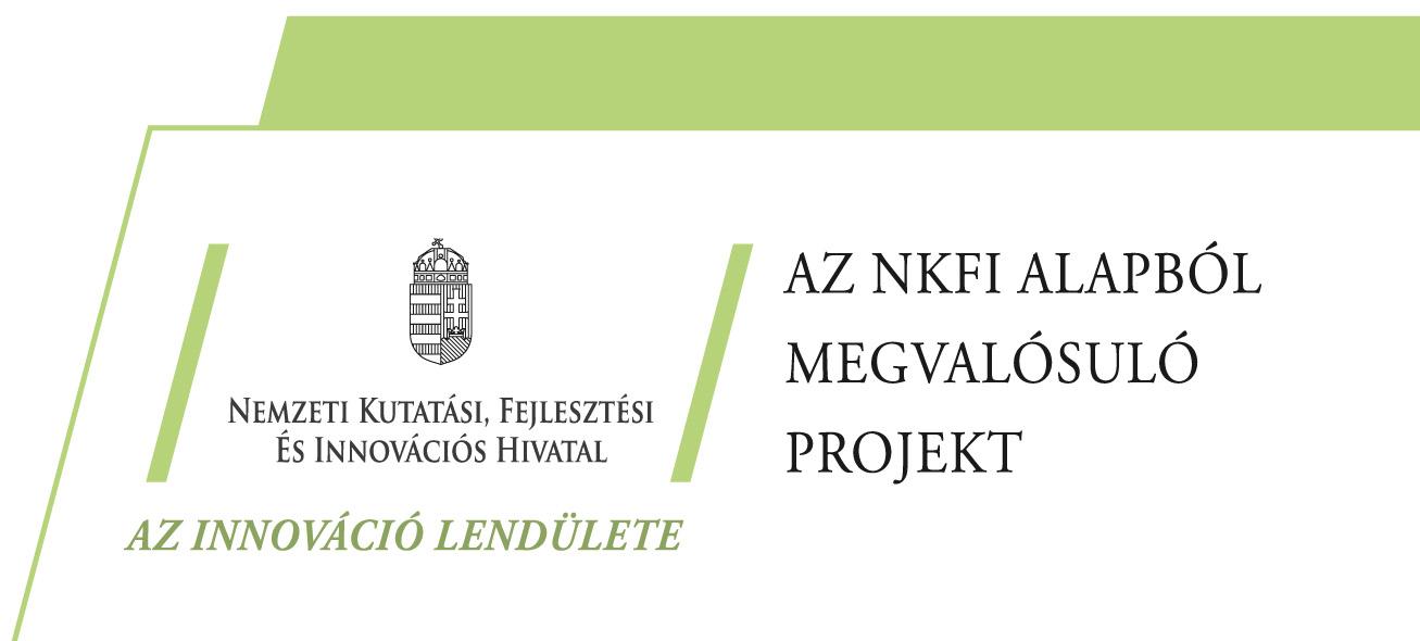 Széchenyi 2020 - Nemzeti kutatási, fejlesztési és innovációs alap